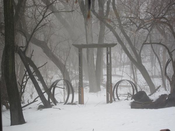 March-fog