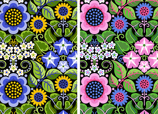 Sassaman-Flower Fiesta-Fabric