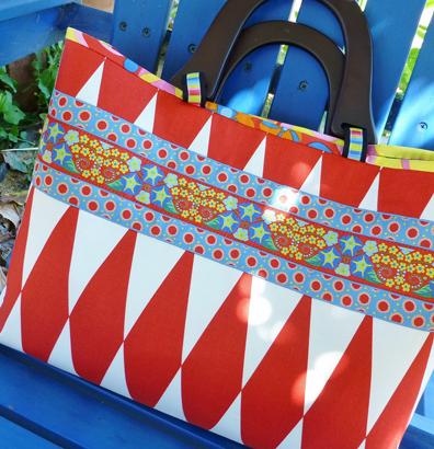 M. Peda Wild Child Bag w:Ribbon