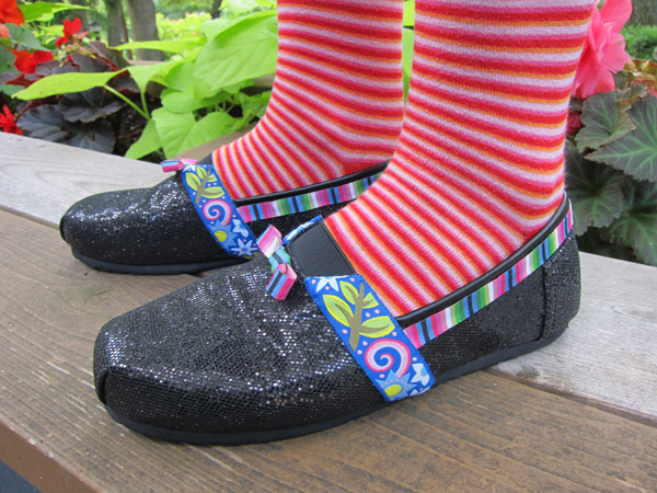 Sassaman Ribbon Shoes