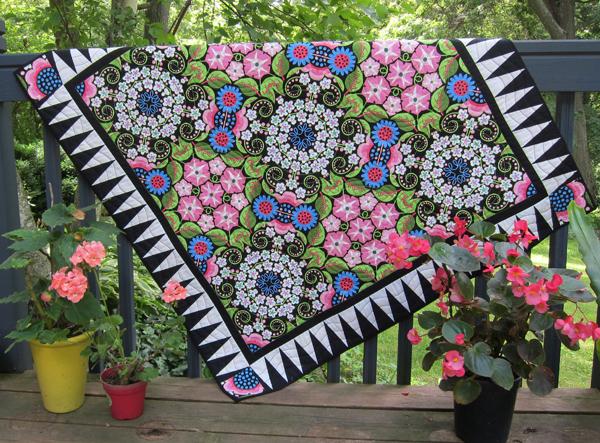 Sassaman Garden Glories Quilt
