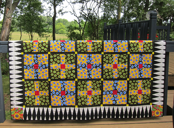 Sassaman Wild Child Dots Quilt