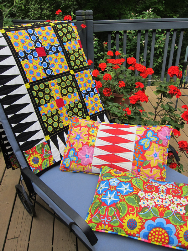 Sassaman Wild Child Quilt & Pillows