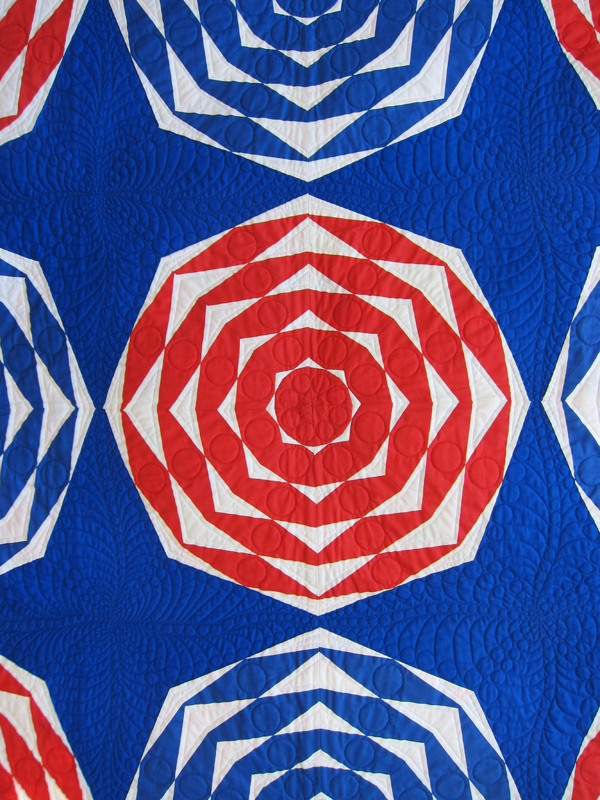 Sassaman Diamond Quilting