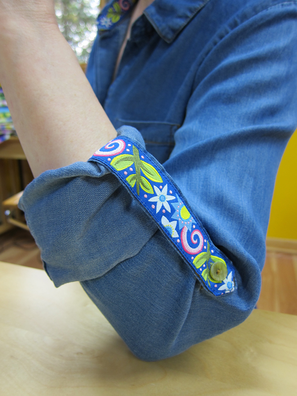 Sassaman Ribbon sleeve