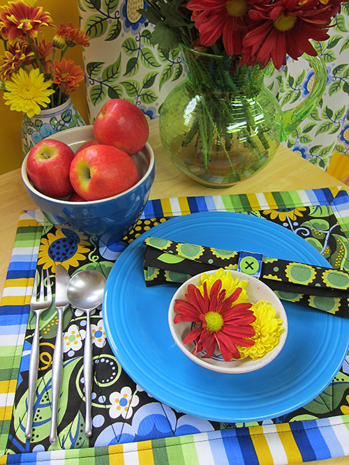 Sassaman Fabric Place Setting