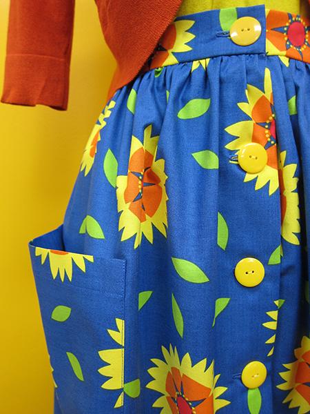 Sassaman Gaillardia Skirt 3
