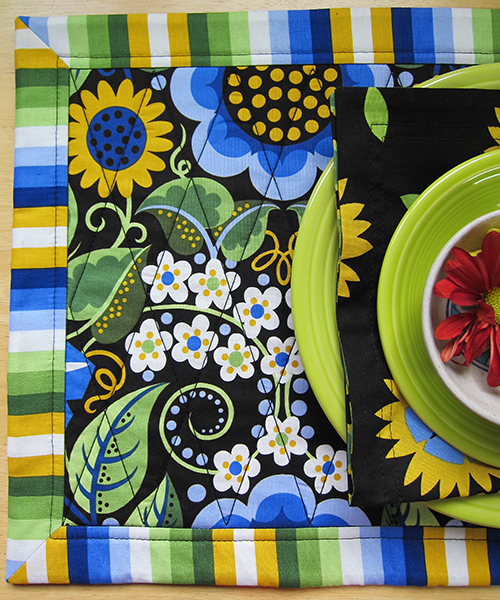 Sassaman Quilted Placemat