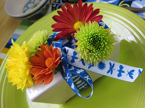 Sassaman Ribbon Bouquet