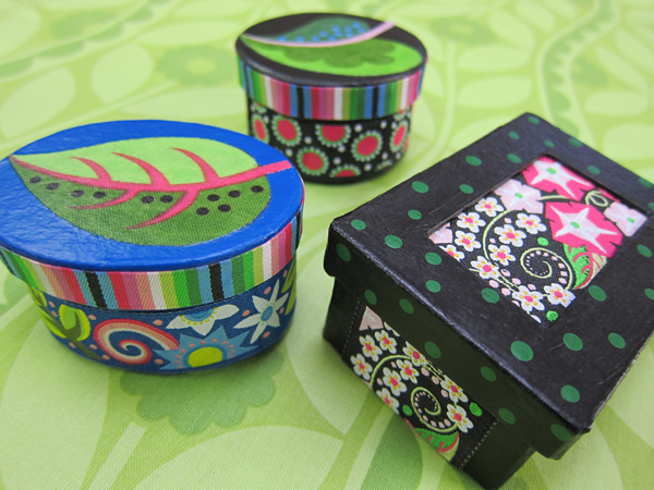 Sassaman Ribbon Boxes