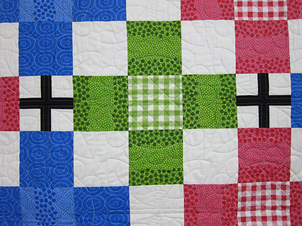 Sassaman Cross Quilt Detail 3
