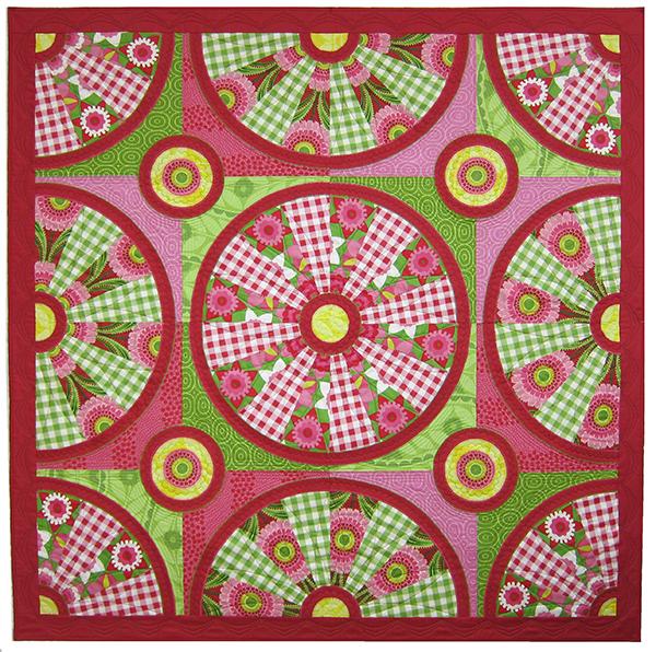 Sassaman Watermelon Quilt