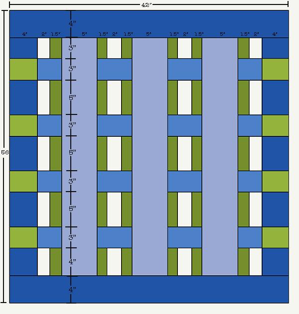 Sassaman SLJ Quilt Diagram