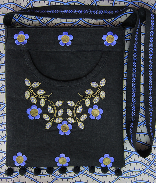 Sassaman Embroidery Purse