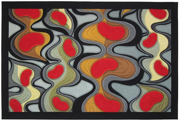 Sassaman Coral Bean Quilt