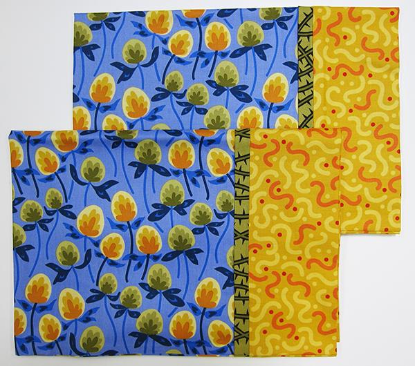 Sassaman Clover Pillowcases