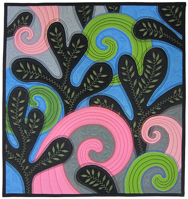 Sassaman Spring Sprouts Quilt
