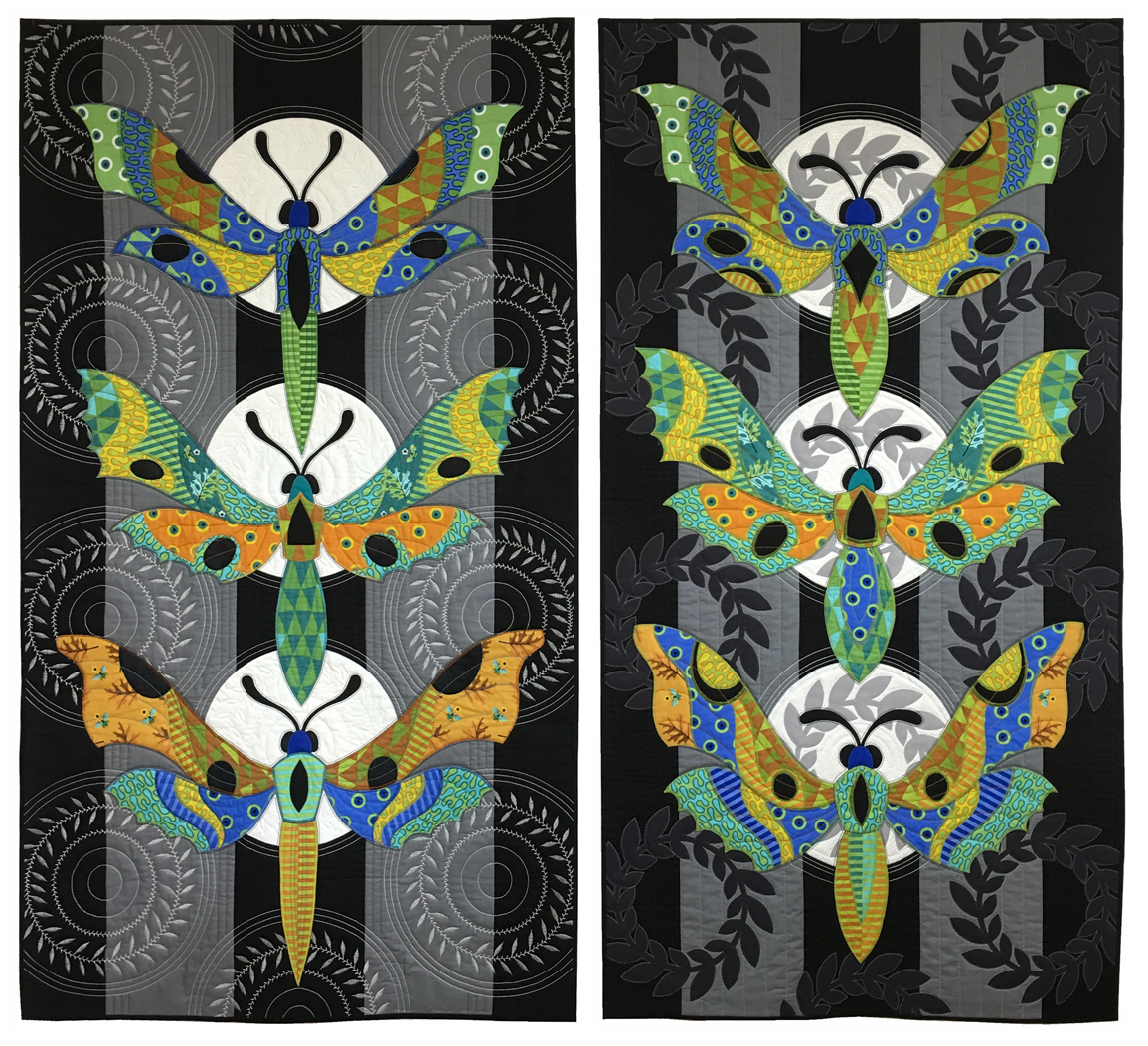 Sassaman Moths and Moons Quilt