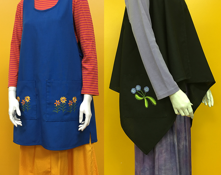 Embroidered Sassaman Jumpers